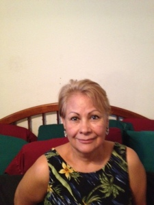 This photo was taken in Rosa's apartment in Reseda,California.